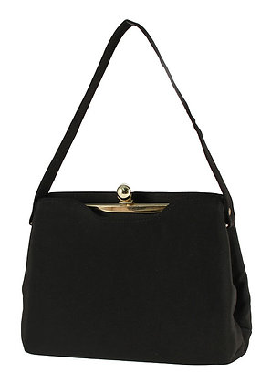 Harry Levine Black Acetate Purse