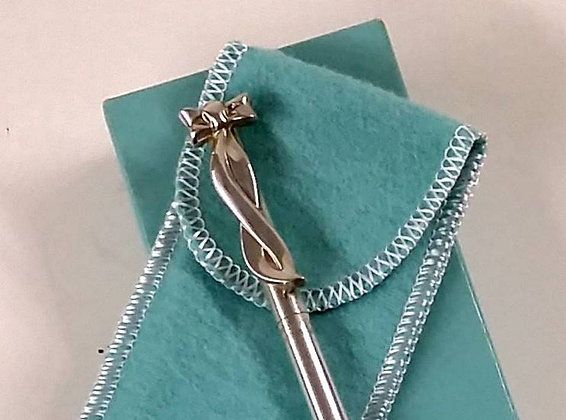 Tiffany Silver Bow Pen