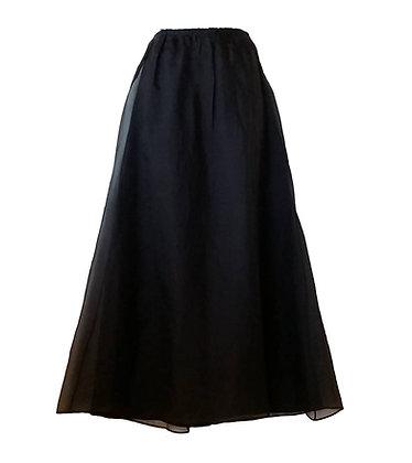 Laundry by Shelli Segal Long Black Skirt