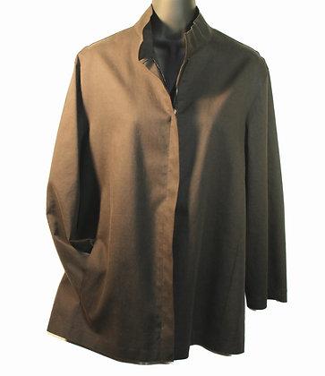 Donna Karen Oilskin Jacket