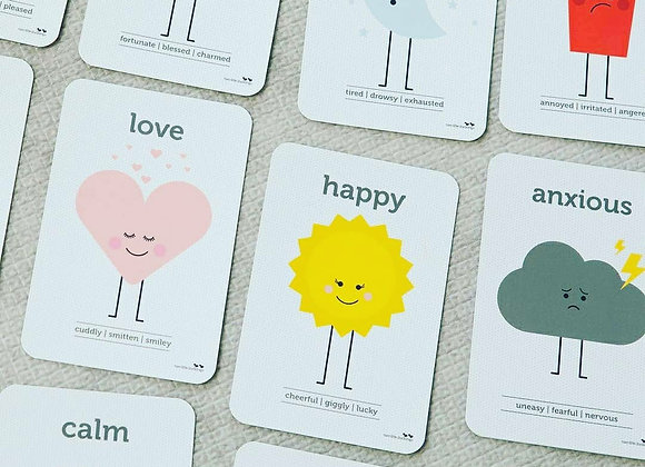 Kids Feeling and Emotion Flash Cards