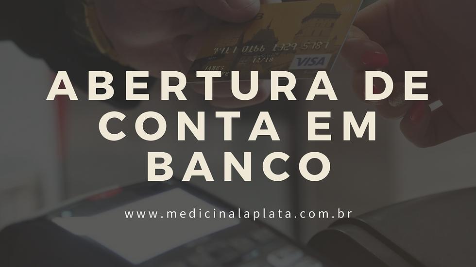 Abertura de conta em banco argentino