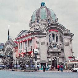 Estação de trem La Plata._⠀⠀⠀⠀⠀⠀⠀⠀⠀_🔸La