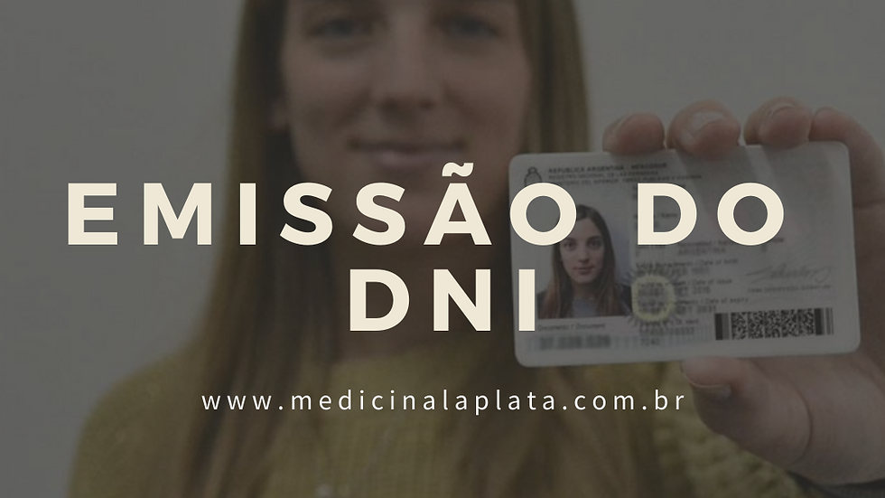 Emissão do DNI - Documento Nacional de Identidad
