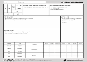 First Year PhD Monthly Planner.png