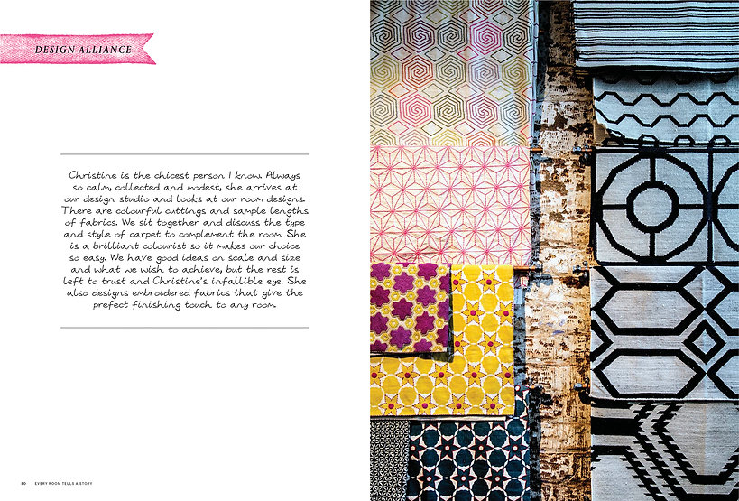 every room tells a story text spread 4.j