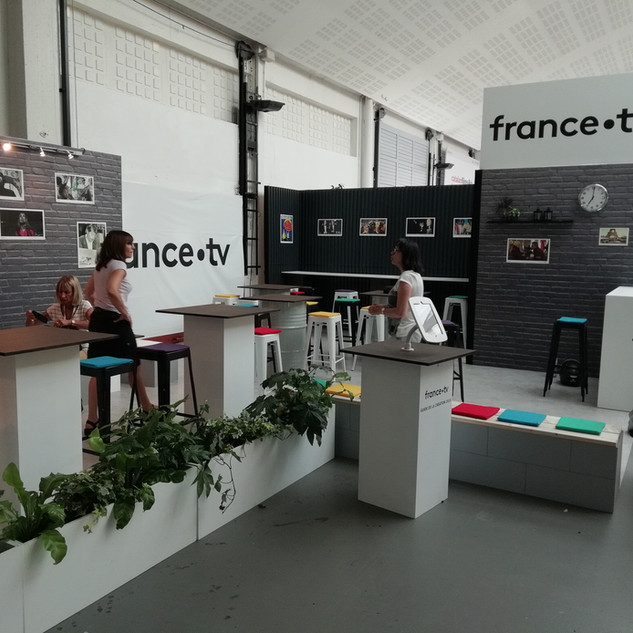 STAND FRANCE TELEVISION SUNNY SIDE - 2018