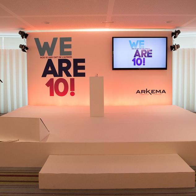 ARKEMA VOEUX - 2015 à 2018