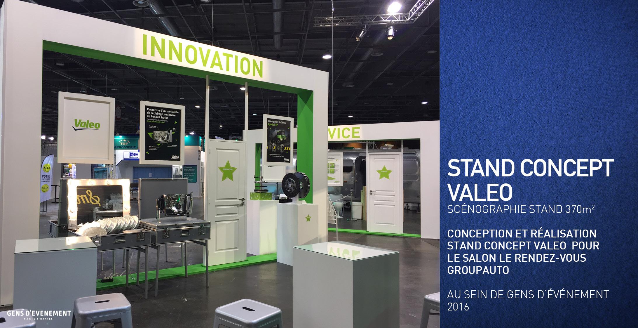 stand concept valeo