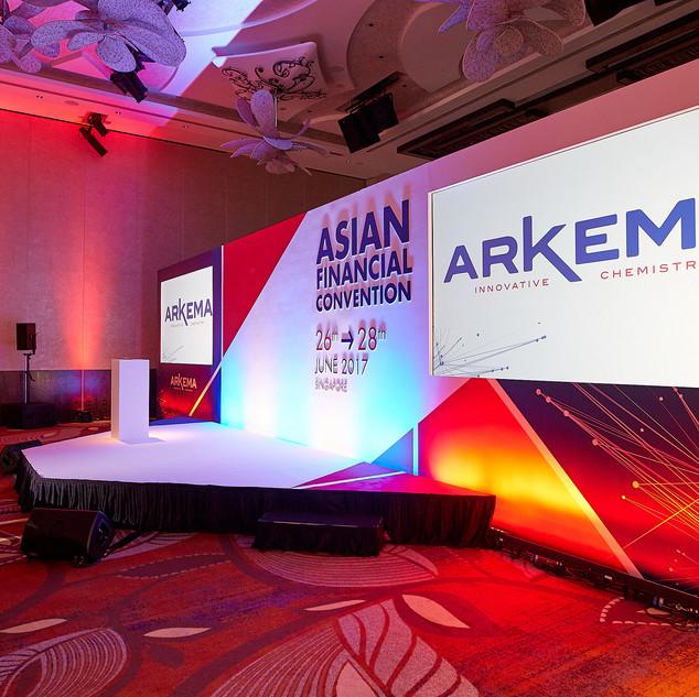 ARKEMA  CONVENTION SINGAPOUR - 2016 - 2017 2018