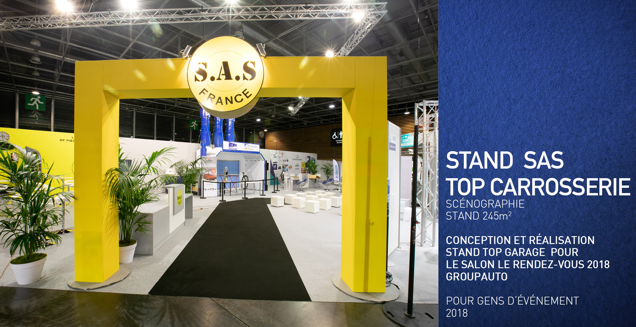 Stand SAS Top Carrosserie