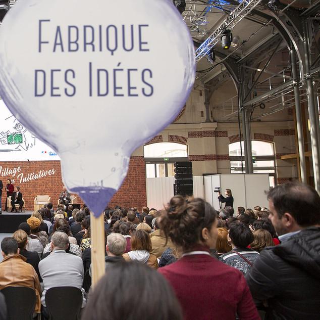 VILLAGE DES INITIATIVES FSE  PARIS 104 - 2019