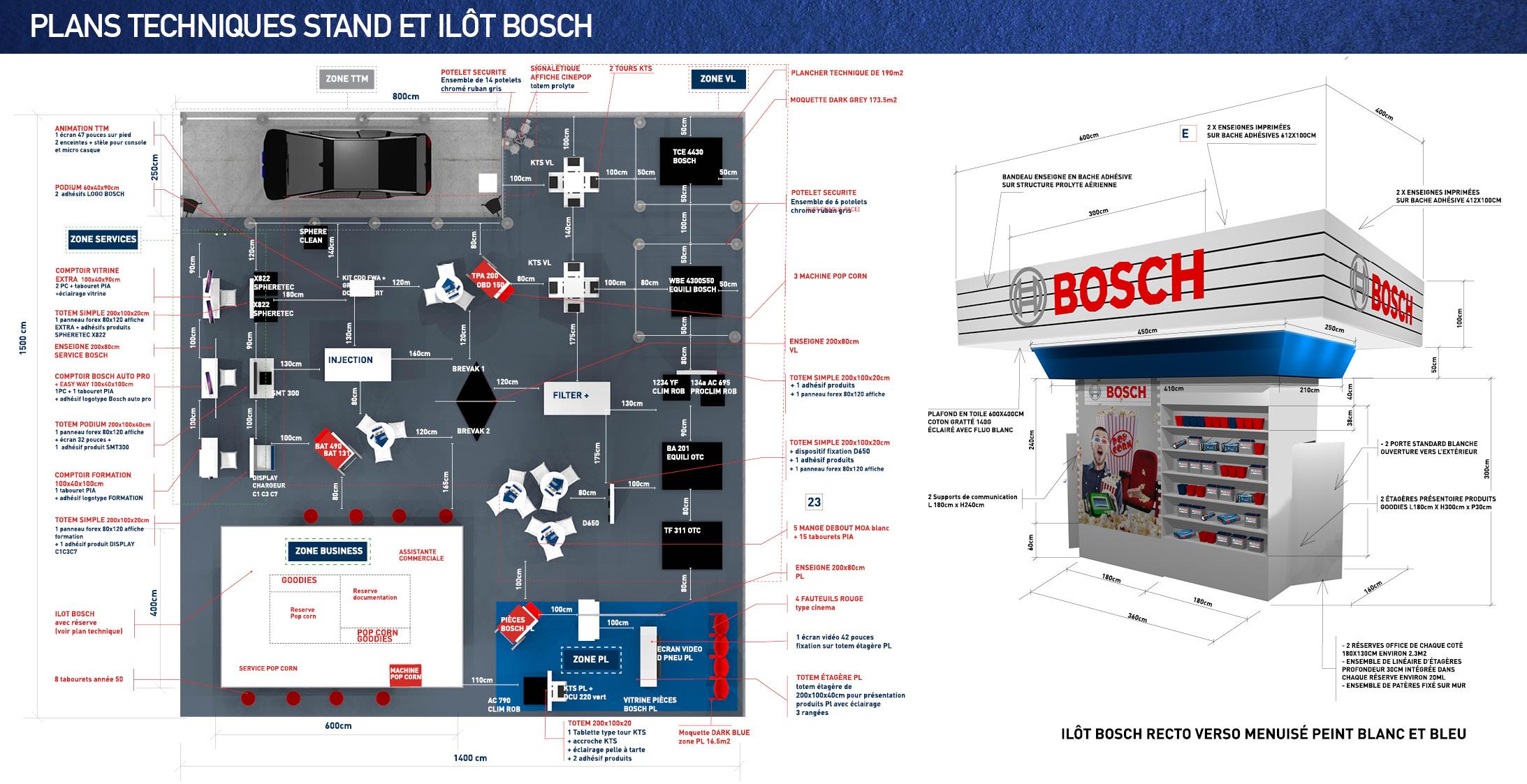 stand concept Bosch