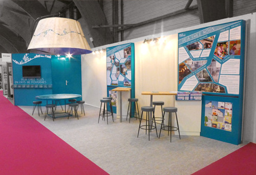 STAND PAYS DE FOUGERES 2014