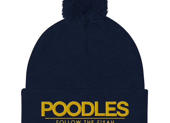 Poodles Pom-Pom Beanie