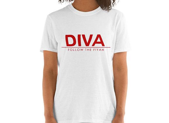Diva Short-Sleeve Unisex T-Shirt