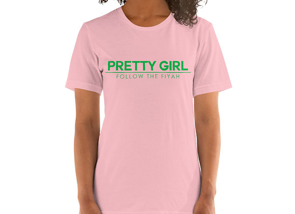 Pretty Girl Short-Sleeve Unisex T-Shirt