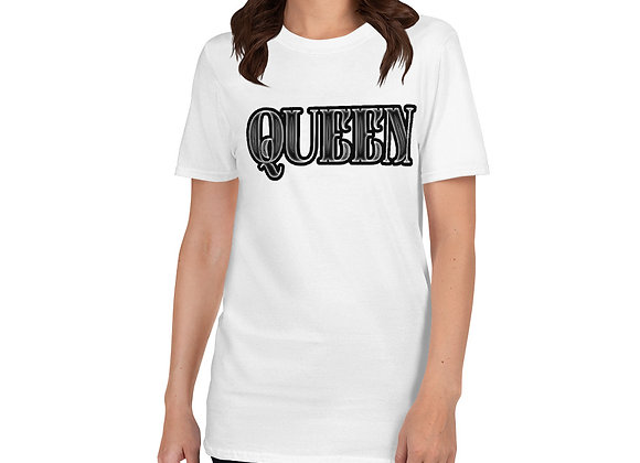 Queen White Short-Sleeve T-Shirt