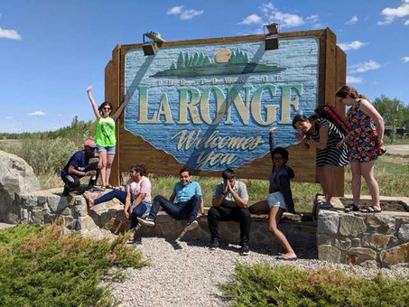 Our day off in La Ronge