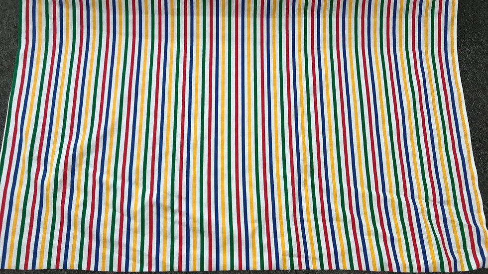 Striped Poly Cotton