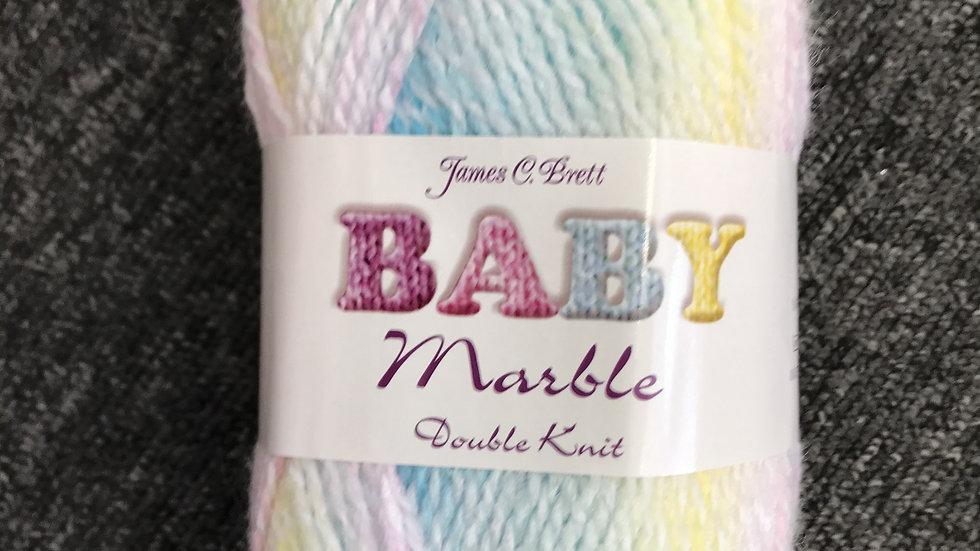 James Brett Baby Marble Double Knitting Yarn