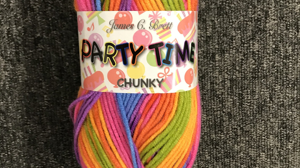 James Brett Party Time Chunky Knitting Yarn
