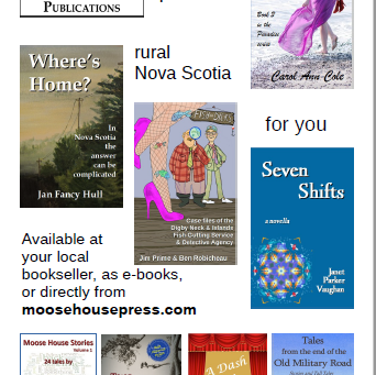 Four summer books from Moose House