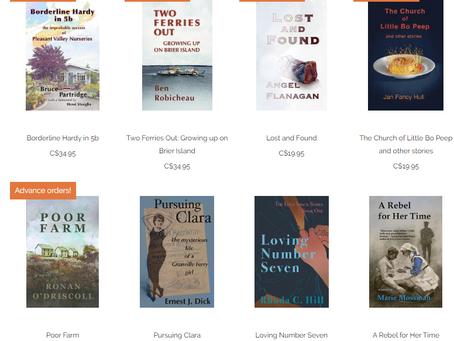 New books advancing!