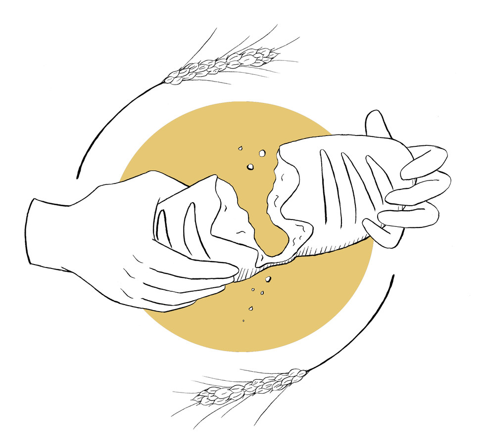 Dream of Wheat Bakery Logo