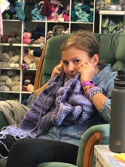 Kids-Knitting