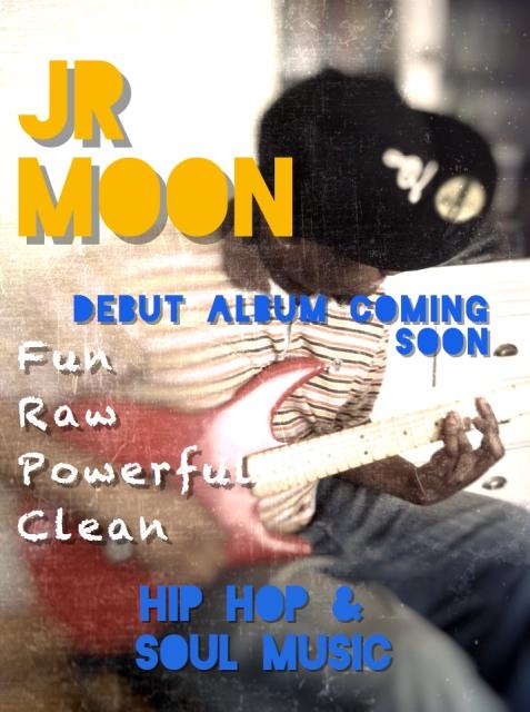 JR Moon Album Card
