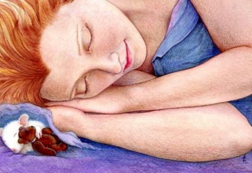 While we lay Sleeping