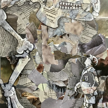 The Origin of my Species. Mixed media on paper 21x29cm.