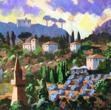 Tuscan Hillside - £250