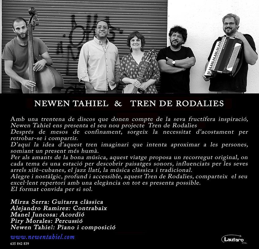 Newen Tahiel & El Tren de Rodalies BN te