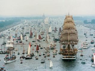 El más grande espectáculo naval del mundo.