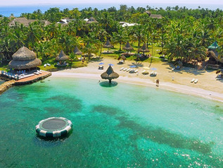 Isla Múcura. Un paraíso terrenal en Colombia.