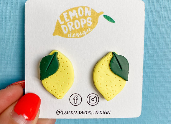 Signature Lemon Studs