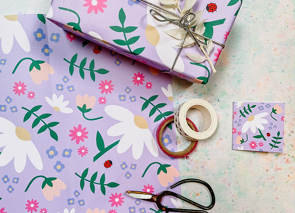 Blooming Lovely Wrapping Paper