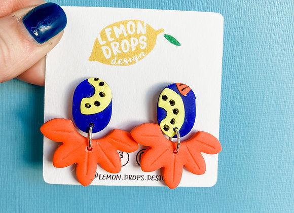 Playtime Flower Drops - Orange