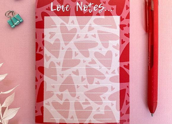 Love Notes Pad