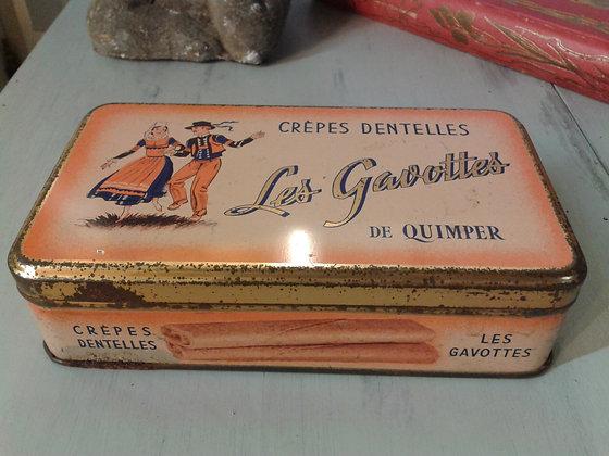 """Boite """" Les Gavottes de quimper"""". Ref.0793G"""