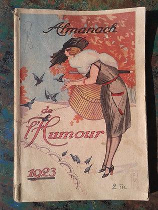 Almanach de l'humour 1923