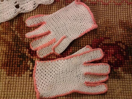 Paire de gants enfant bicolore. Ref.A0049