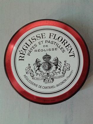Boite Réglisse Florent. Ref.0443