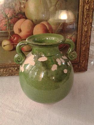 Vase ancien  terre vernissée. Ref.0268