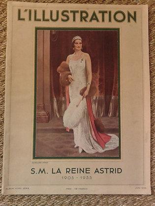 L'Illustration  La reine Astrid album hors serie