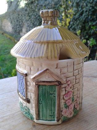 Pot à confiture vintage Sylvac pottery. Ref 0753