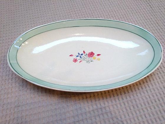 Petit plat ovale vintage Choisy-le- Roy