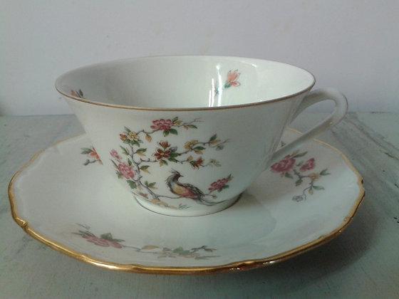 Grande tasse à thé porcelaine
